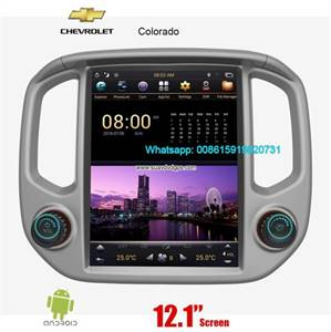 GMC Canyon Tesla Vertical IPS Android Radio GPS Navigation