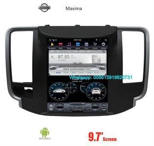 NISSAN Maxima 9.7INCH Tesla Car Android Radio GPS Navigation Camera