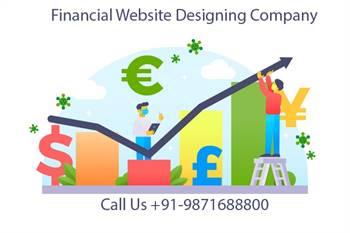 financial website designing company