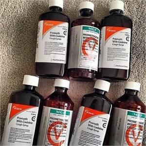 Lean - Actavis Prometh With Codeine / Wockhardt Cough Syrup / MGP Cough Suppressants For Sale