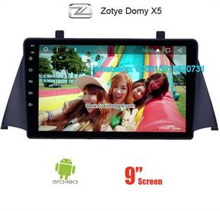 Zotye Domy X5 Audio Radio Car Android wifi GPS Camera Navigation