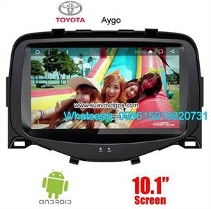 Toyota Aygo Audio Radio Car Android wifi GPS Camera Navigation