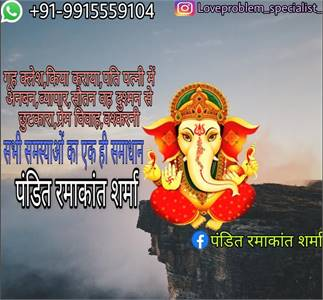 wants your love back come Pandit Ramakant Sharma 9915559104