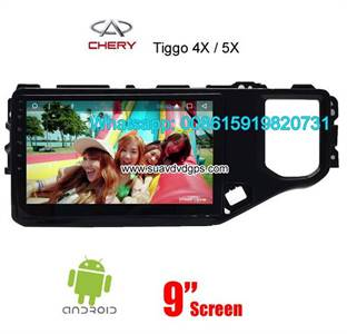 Chery Tiggo Car Audio Radio Android GPS Navigation Camera