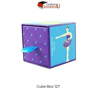 Cube cardboard boxes and Point of Sale Material in USA