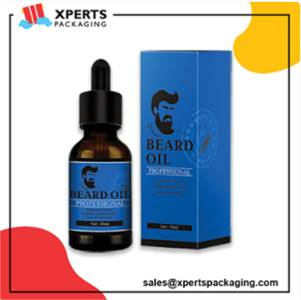 Get Custom Beard Oil Packaging Boxes at Wholesale Rates