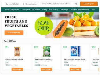 Best Online Grocery Ordering Software | Toronto Grocery Software