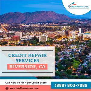 Credit Clean Up in Riverside | (888) 803-7889