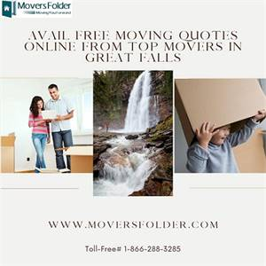 Avail free Moving Quotes Online from Top Movers in Great Falls
