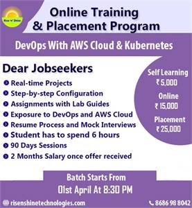 DevOps With AWS Cloud and Kubernetes Training