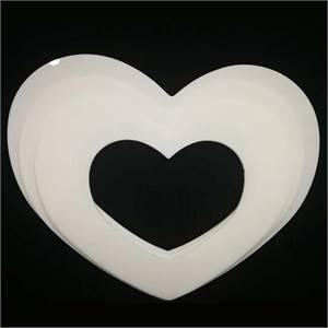 Heart Shape Plastic Cake Mould