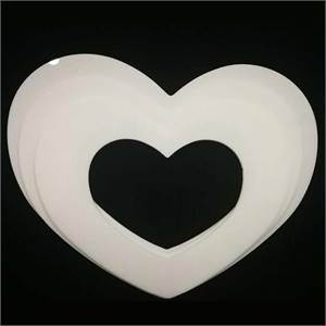 Heart Shape Plastic Cake Mould