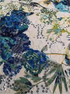Hot Sale High Quality Chiffon Lace Jacquard Double Stripe Unique Craft for Dress Garment Manufacture