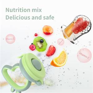 Wholesale By Chinese Manufacturers Baby Food-Grade Silicone Food Fresh Fruit Feeder Pacifier