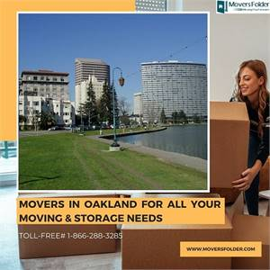 Movers in Oakland for all your Moving & Storage Needs