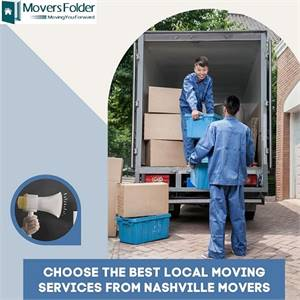 Choose the Best Local Moving Services from Nashville Movers