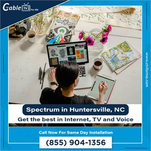 The fastest and most reliable TV & Internet service provider in Huntersville, NC