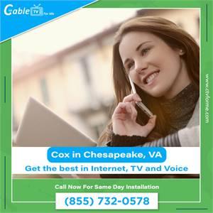 Best Benefits of Cox High Speed Internet in Chesapeake, VA