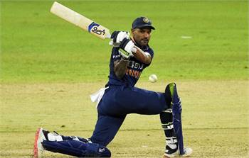 SL vs IND: India registered a thumping victory over Sri Lanka in the first ODI, Dhawan played the bi