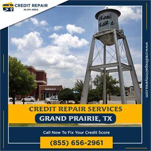 Get your free copy of your credit report today in Grand Prairie, TX