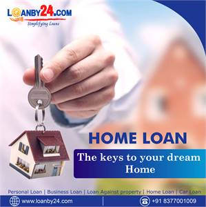Get Home Loan through Loanby24.