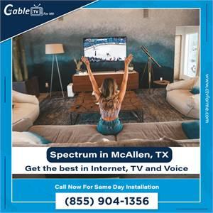 Spectrum Internet Services for Residents in McAllen, TX