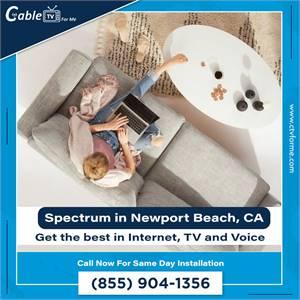 Spectrum TV, Internet and Phone is the best in Newport Beach, CA