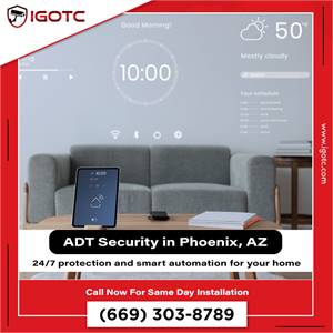 Reliable ADT Home Security Systems with Innovations in Phoenix, AZ