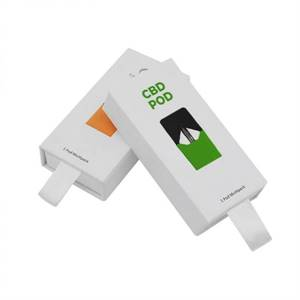 Printed Wholesale Custom CBD Pod Boxes with Free Shipping