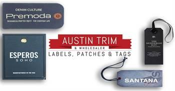 Hang Tags   Custom Hang Tags   Fabric Labels   Woven Tags   Austin Trim