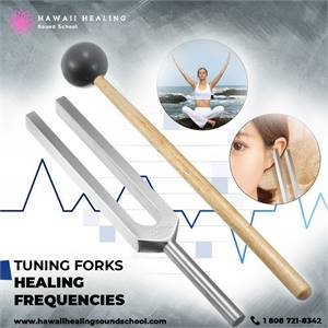 Use tuning forks healing frequencies to harmonize your body, mind and spirit