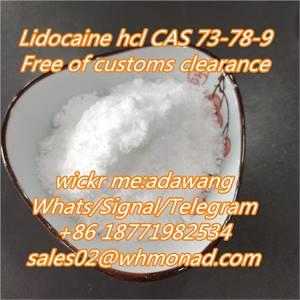 Sell  lidocaine/Supply Lidocaine/Benzocaine cas 137-58-6 Local Anesthetic