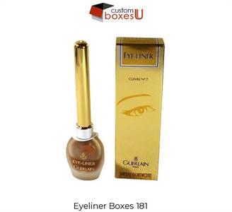 Custom Eyeliner Boxes Wholesale for Packaging in Texas