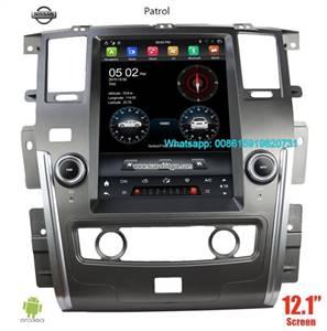 NISSAN Patrol 12.1INCH Tesla Android Radio GPS Navigation Camera