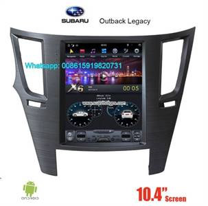 Subaru Outback Legacy Tesla Android Radio GPS Navigation Camera