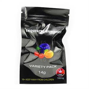 Exquisite Gummies – Variety Pack 100mg THC