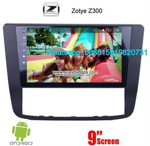 Zotye Z300 Audio Radio Car Android wifi GPS Camera Navigation
