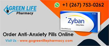Order Anti-Anxiety Pills Online | Go Green Life Pharmacy