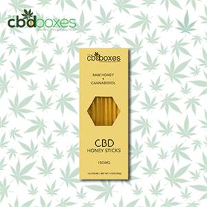 Get Custom CBD Honey Sticks Packaging Boxes at wholesale rates