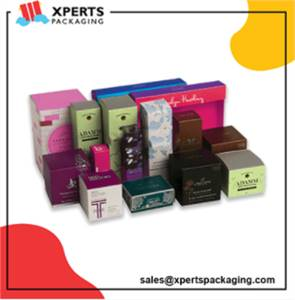 Get Custom Makeup Packaging Boxes with logo