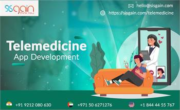 Get Telemedicine App Development Services in California | SISGAIN