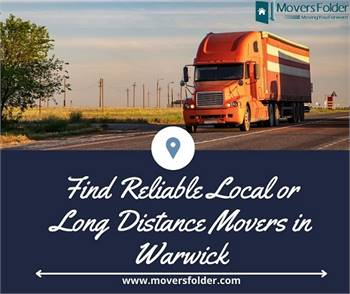 Find Reliable Local or Long Distance Movers in Warwick