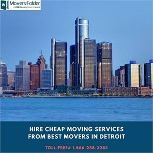 Hire Cheap Moving Services from Best Movers in Detroit