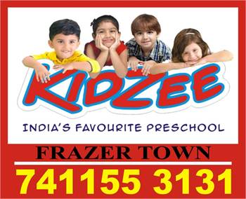 Play School Admission Started Now |Kidzee Frazer Town | 1813 |