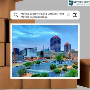 Moving Locally or Long Distance, Find Movers in Albuquerque
