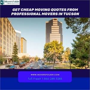 Get Cheap Moving Quotes from Professional Movers in Tucson