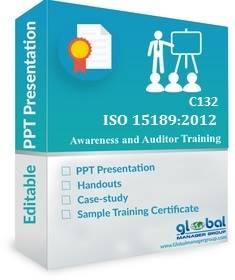 Online ISO 15189 Internal Auditor Training PPT Kit