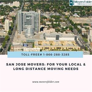 San Jose Movers: For your Local & Long Distance Moving Needs