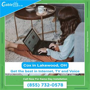 Cheap Cox Cable, Internet & Phone deals in Lakewood, OH