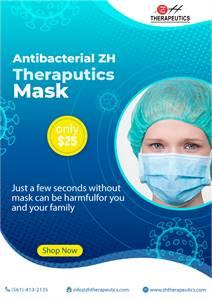 Antibacterial ZH Therapeutics Mask